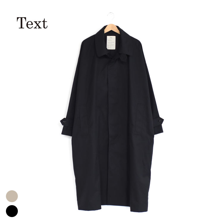 Text(テキスト)/Trenchcoat Single-Brested Double Collar/メンズ/text 洋服/text 服/text 通販/text ブランド/text 20aw【2020秋冬】
