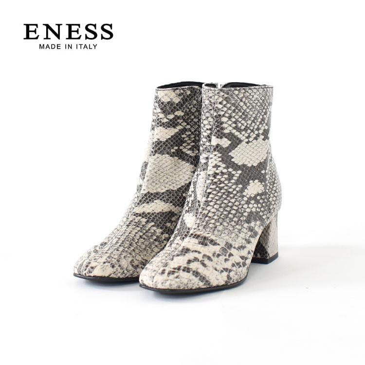 ENESS(エネス)/レザーショートブーツ/レディース/eness ブーツ/eness 通販/eness レザーブーツ/エネス ブーツ【2020秋冬】