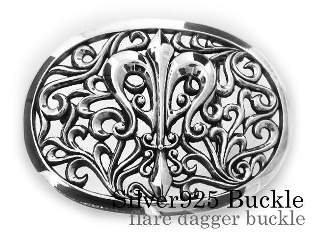 \クーポンで割引/Binich(ビニッチ) フレアダガ―バックル シルバー925 アクセサリー 剣