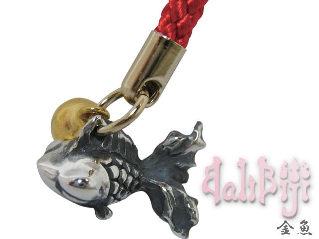 Balibiji (バリビジ) 金魚根付ストラップ ブランド シルバー925 アクセサリー