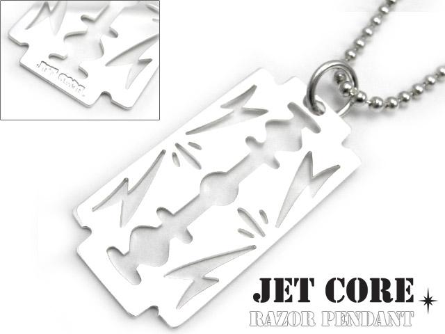 JET CORE (ジェットコア) レザーペンダント (チェーン別売り) シルバー925 アクセサリー ブランド メンズ[シルバーペンダント]