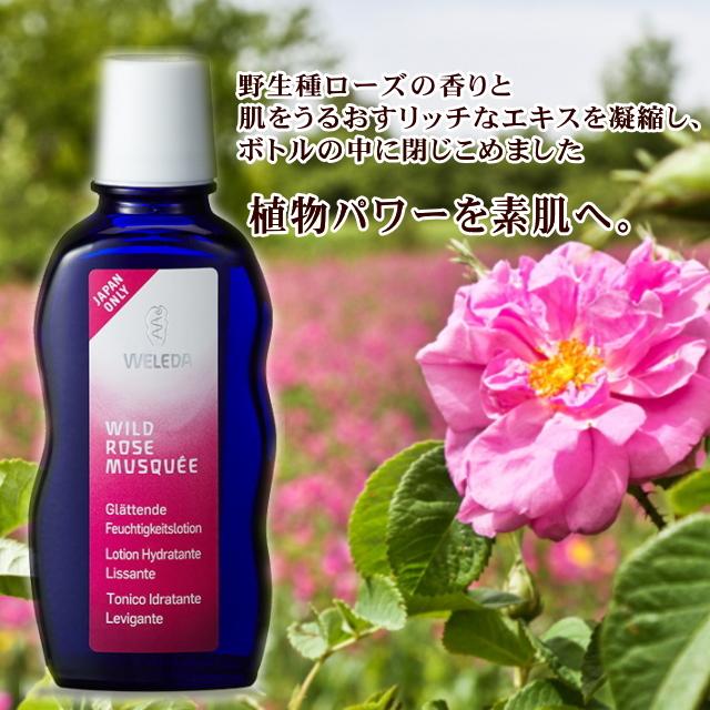 Weleda (WELEDA) wild rose moisture lotion (beauty / cosmetics / organic / natural / dry skin / sensitive skin and moisturizing moisture / perfume / skin care / lotion / lotion / / UR) 02P21Feb15