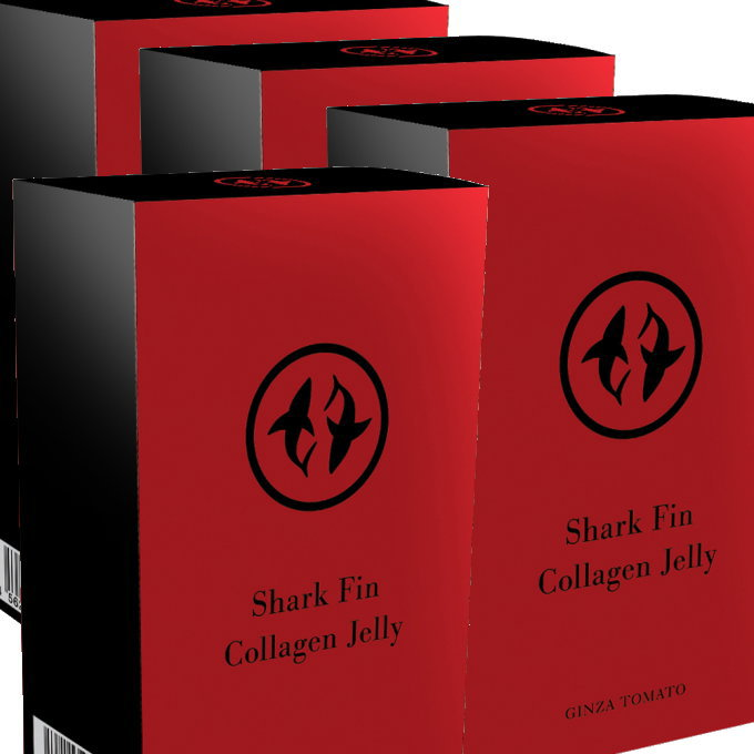ふかひれコラーゲンゼリー4個セット【国内正規品】スティック1包にふかひれ約1枚分2000mgのコラーゲン配合