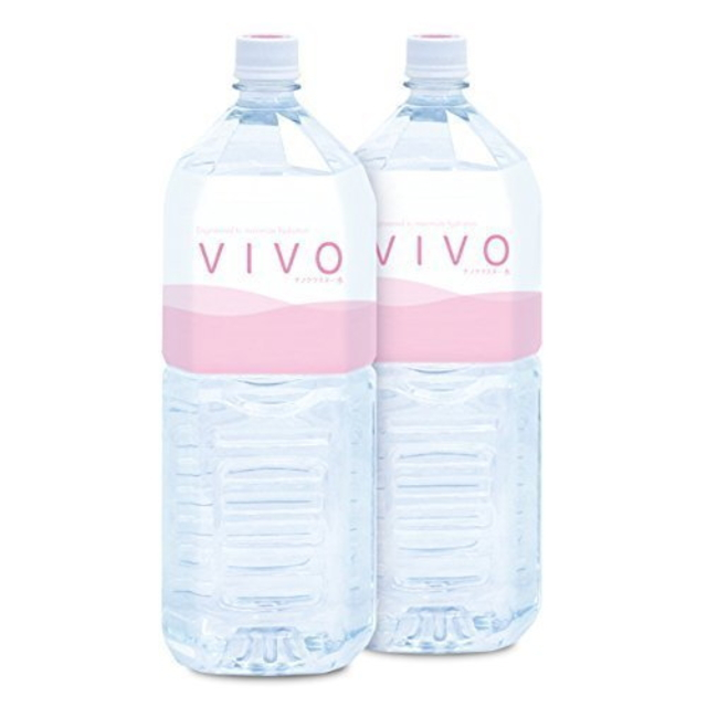 ナノクラスター水VIVO(ヴィボ)4ケース(2L×6本)送料無料(水/飲料水/軟水/酸素水/ナノ/クラスター水/機能水//通販)