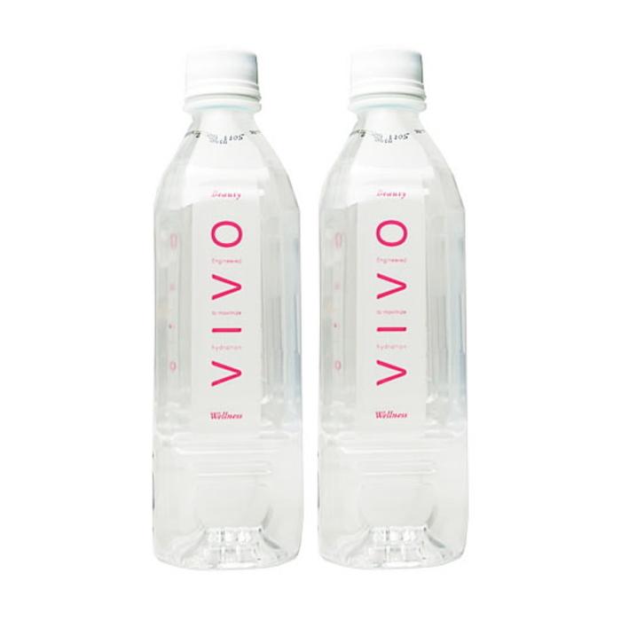 ナノクラスター水VIVO(ヴィボ)4ケース(500mL×24本)送料無料(水/飲料水/軟水/酸素水/ナノ/クラスター水/機能水//通販)