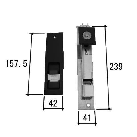 三協アルミ 引き戸 交換シリンダー (WD4778)鍵 交換