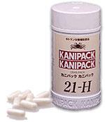 【キチンキトサンの健康食品】 カニパック カニパック 21-H