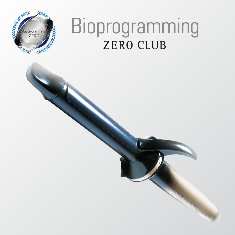 Bioprogramming オフィシャルストア ZERO CLUB リュミエリーナ 正規品  ヘアビューロン4D Plus [カール] S-26.5mm/L-34.0mm 延長保証OK バイオプログラミングオフィシャルストア [送料無料]
