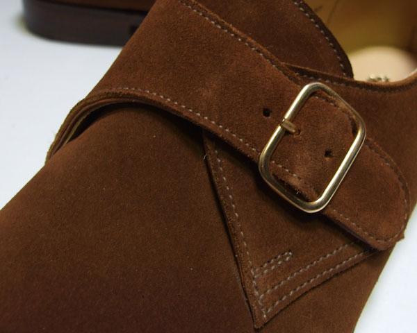 "United Kingdom brand ""CROCKETT & JONES""-Davy Crockett & Jones ~ monk's strap shoes"