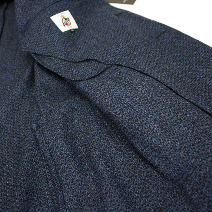 Jacket made in Italy fabric men's trend new model! cloth Lanificio di Pray-Italy-made fabric xMADE IN JAPAN [made in Japan]-ancon 3 botannitjacket 58000