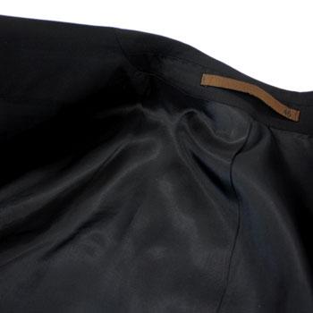 이탈리아제 슈트 맨즈 블랙 슈트 cloth CERRUTI DAL1881≪체룻티≫이탈리아제 천 2 버튼 슈트흑포멀 대응 MADE IN ITALY 큰 사이즈도 용무뜻!88000