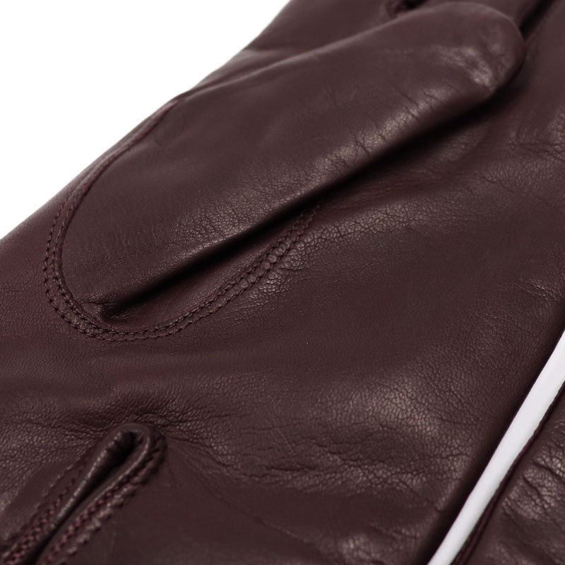 6470693506954 ... Leather glove men genuine leather gloves Napa leather << Bordeaux  cashmere lining > ...