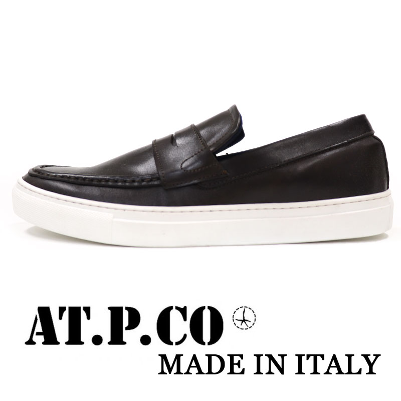 5572753facd The shoes collection that AT.P.CO    アティピコ    presents in Italy The loafer  slip-ons sneakers which there is sporty elegance