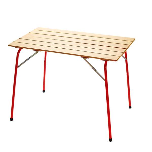 CASTELMERLINO カステルメリーノ ハイ&ローキャンパーテーブル 100×60