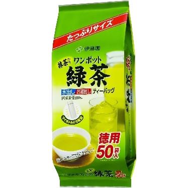 Anese Wisteria Garden One Pot Matcha Green Tea Bag 50 Bags Ryokucha