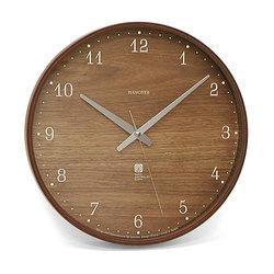 【最大20倍ポイントUP中】深みのあるブラウニー色♪落ち着いた雰囲気のお部屋にぴったり!Lemnos (レムノス) Brownie Lサイズ / 電波時計 PC07-04 L