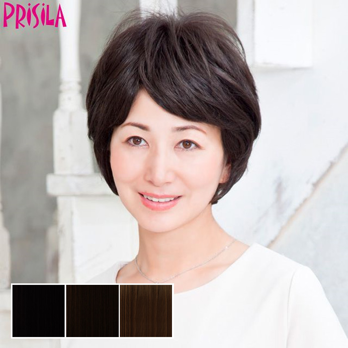 Mrs. hand cover piece c-001 PRISILA Priscilla hair wig wigs Wick wig piece  or wig for women aged ca0f5704c1