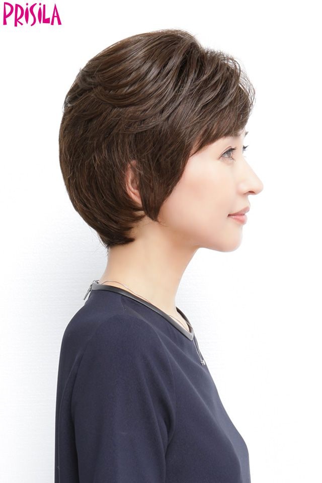 Mrs. hand cover piece c-003 PRISILA Priscilla hair wig wigs Wick wig piece  or wig for women aged a7f761792f