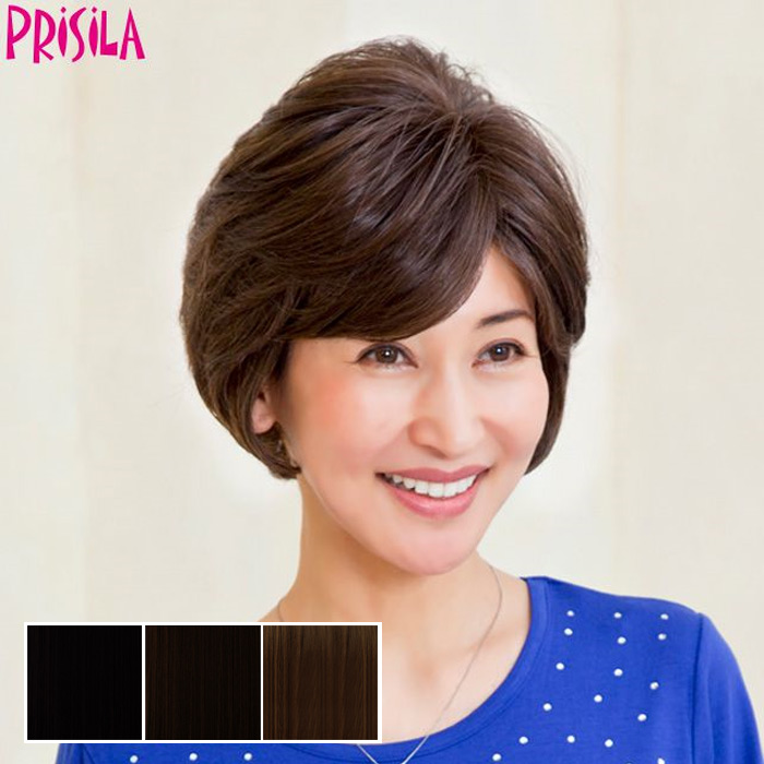 Mrs. hand cover piece c-004 PRISILA Priscilla hair wig wigs Wick wig piece  or wig for women aged f962c1c0b5