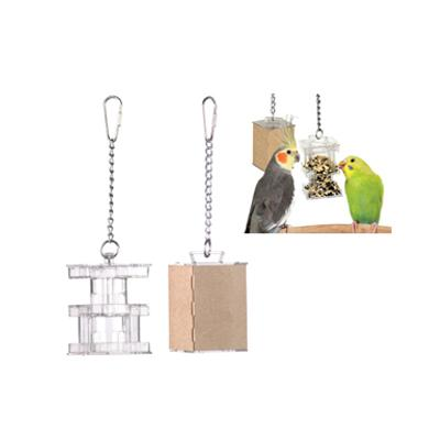 小鳥 ファクトリーアウトレット インコ 希望者のみラッピング無料 おもちゃ グッズ 宅配便330円 ボックスフィーダー フォージング