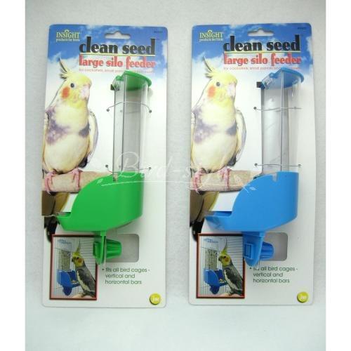 小鳥 インコ おもちゃ グッズ お得クーポン発行中 宅配便330円 Pet JW AL完売しました ラージタイプ Companyサイロバードフィーダー