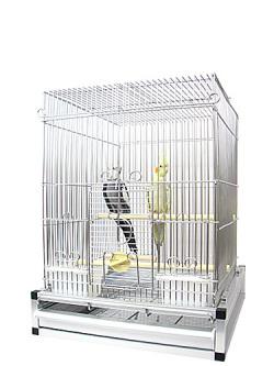 HOEI / 35手乗り ステンレス プレミアム / 9992270 ( BIRDMORE バードモア 鳥用品 飼育 グッズ 雑貨 鳥 とり かご カゴ ケージ )