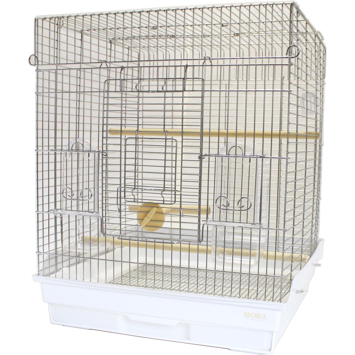 HOEI / 465 オカメ ステンレス / 9997098( 20% OFF 45,360円 → 36,288円 ) / (BIRDMORE バードモア ステンレス 鳥かご ケージ とりかご ゲージ 手乗り てのり )