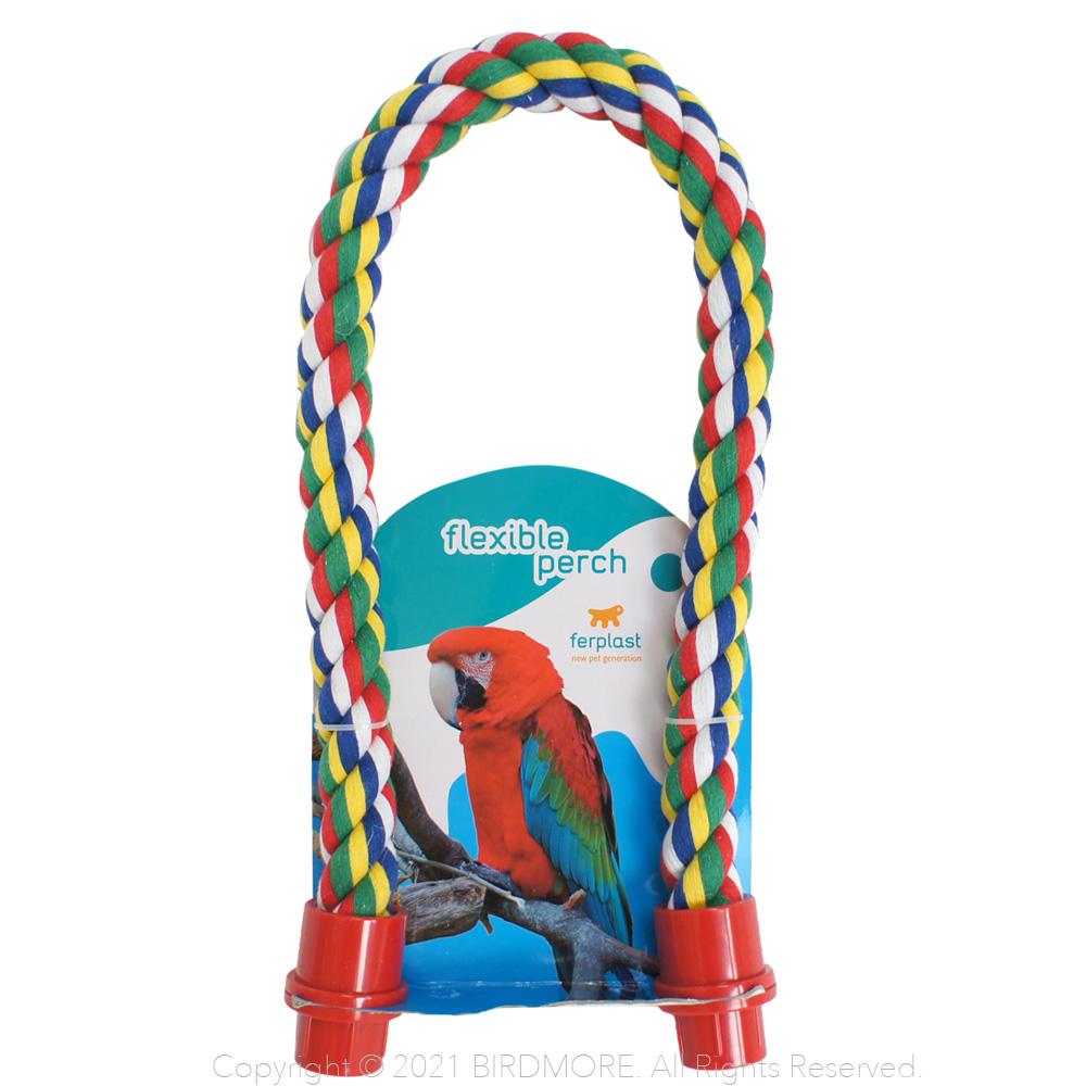 ferplast 大人気 コットンパーチS レッド 9998083BIRDMORE 好評受付中 バードモア 鳥用品 鳥グッズ 雑貨 素材 面白い 楽しい おもちゃ とり 自然 鳥