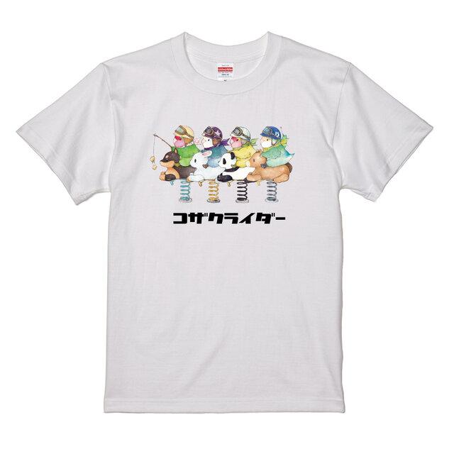 予約販売品 ゆとり屋 コザクライダーTシャツ 兼用 L BIRDMORE バードモア 鳥グッズ 雑貨 プレゼント メーカー直送 鳥用品 鳥 とり