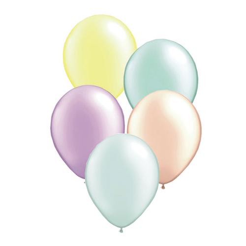 定番のカラーバルーン5個入り 11インチ 約28cm パールカラー ゴム風船アソート 贈物 5個入り バルーン 風船 パーティーデコレーション HAPPY 自宅で記念撮影 BIRTHDAY お誕生日のお祝い 2020 バースデイ おうちスタジオ