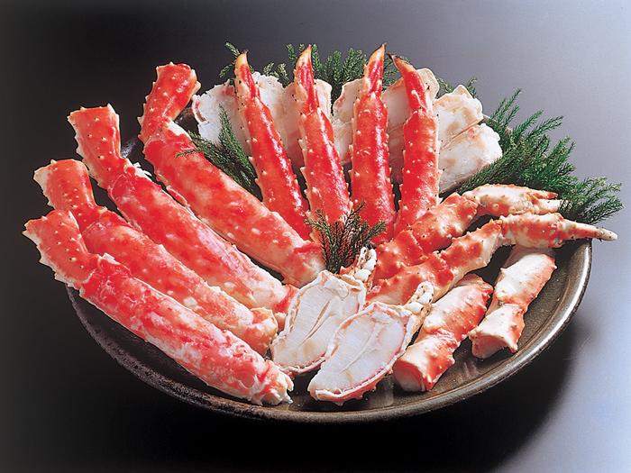 ボイルカットかに(たらばがに・タラバガニ・カニ・かに・蟹)「北国の味自慢・北の海鮮めぐりギフト」[送料無料]