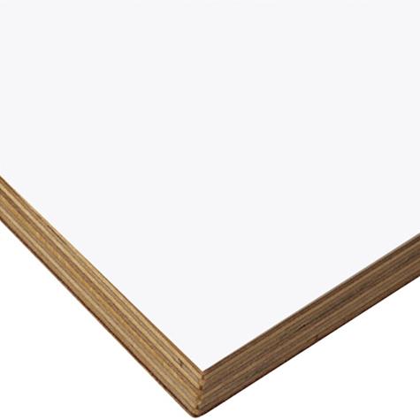 シナ合板天板 B ホワイト デスクセット用 W1505~1800 D600~700