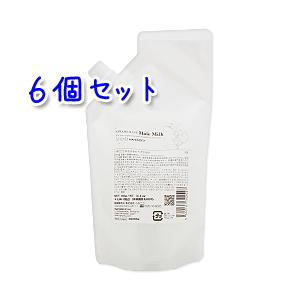 ハホニコ キラメラメ ヘアミルク 300g×6本セット (詰替用)