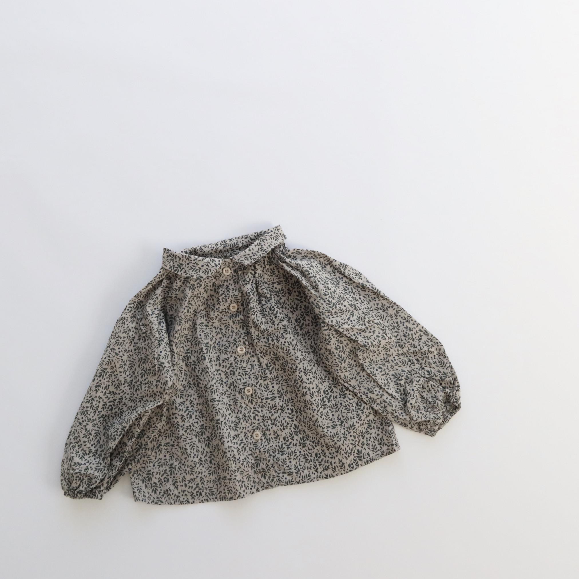 リーフブラウス Bisque Original びすく 韓国子供服 キッズ 女の子 ビスク 長袖 開店祝い 超歓迎された 男の子