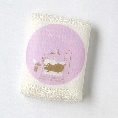 シルク 好評受付中 日本メーカー新品 トウモロコシの天然繊維☆ ボディタオル 泡アワシルク