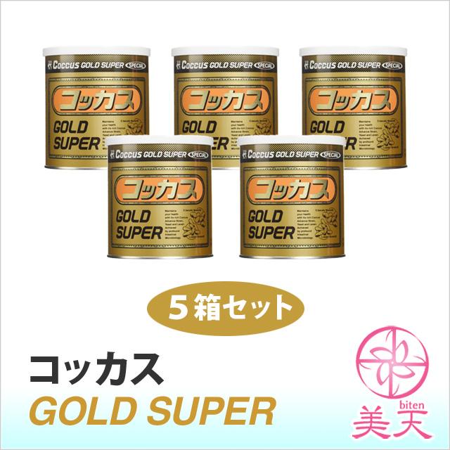 コッカス ゴールドスーパー 5箱セット