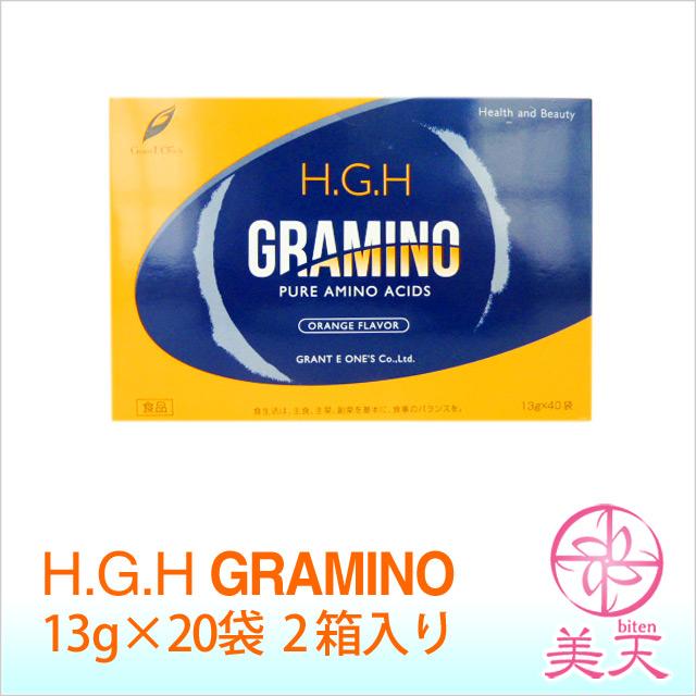 グラントイーワンズ HGH GRAMINO エイチ・ジー・エイチ グラミノ40袋(むくみ、セルライト退治)