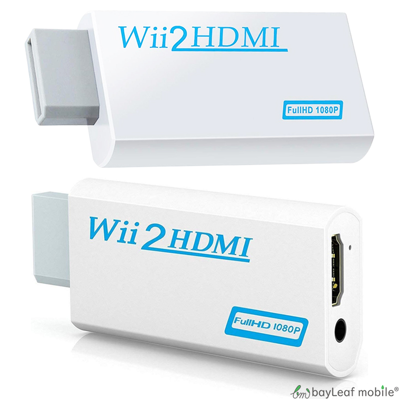 Nintendo Wii HDMI接続変換アダプタ Nintendo Wii HDMI 変換 アダプタ コネクタ 接続 任天堂 ニンテンドー ゲーム レトロゲー 便利