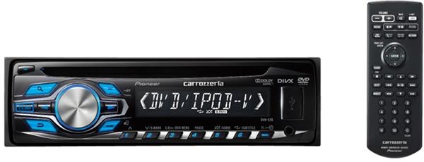 【carrozzeria】カロッツェリア DVH-570 DVD-V/VCD/CD/USB/チューナー1DINメインユニット