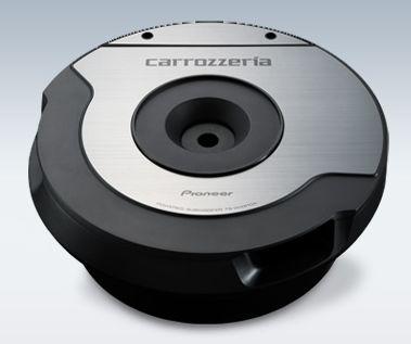 【carrozzeria】カロッツェリア10cm×2パワードサブウーファーTS-WX610A