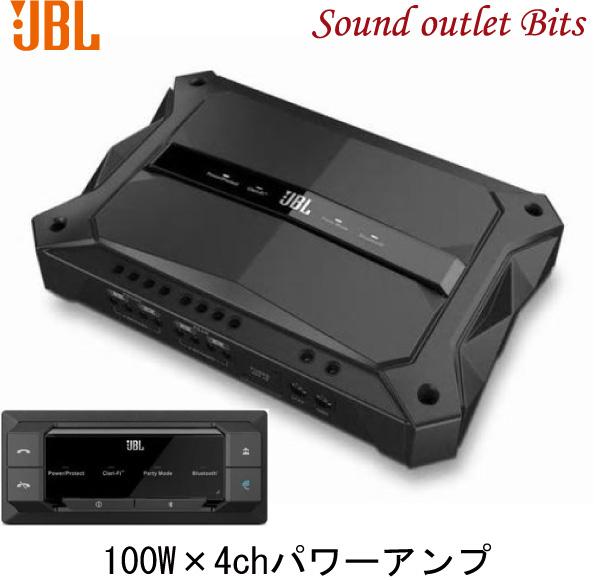 【JBL】スタジアムアンプ GTR104100W×4ch(4Ω)パワーアンプ