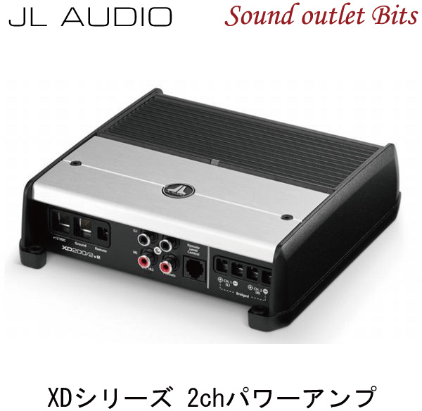 【JL AUDIO】XD200/2v2XDv2シリーズ2chパワーアンプ