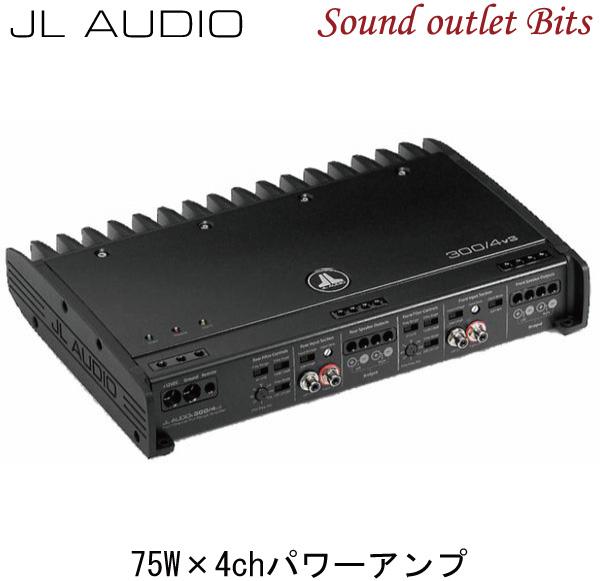 【JL AUDIO】300/4v3Slash v3シリーズ4chパワーアンプ