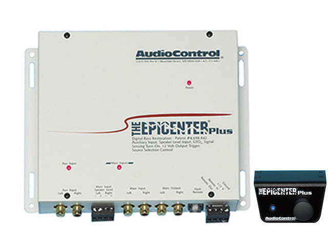 【Audio Control】オーディオコントロールOEM対応低域創成プロセッサーTHE EPICENTER PLUS.W