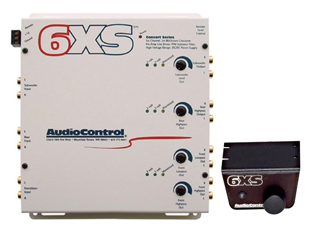 【Audio Control】オーディオコントロール6chクロスオーバー6XS.W
