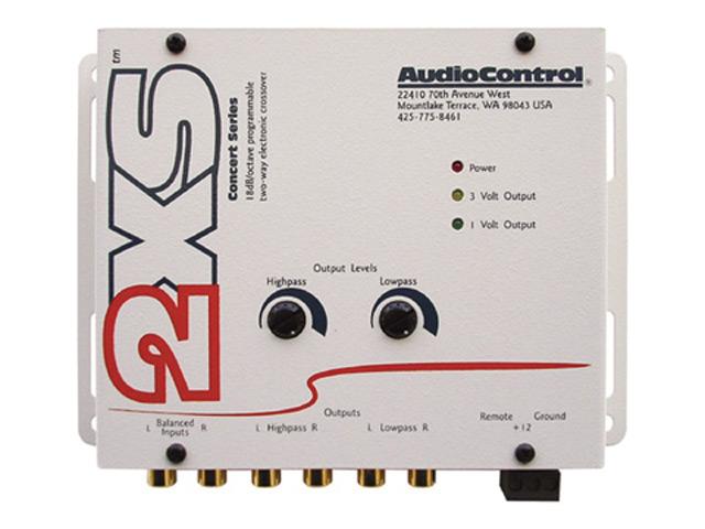 【Audio Control】オーディオコントロール2wayクロスオーバー2XS.W