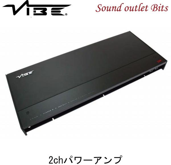 【VIBE】ヴァイブCVENS2-V4 2chパワーアンプ