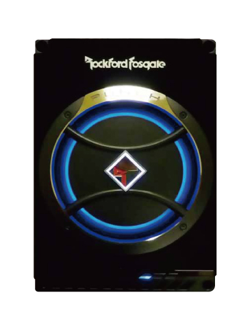 【Rockford】ロックフォード8インチパワードサブウーファーJPS-100-8