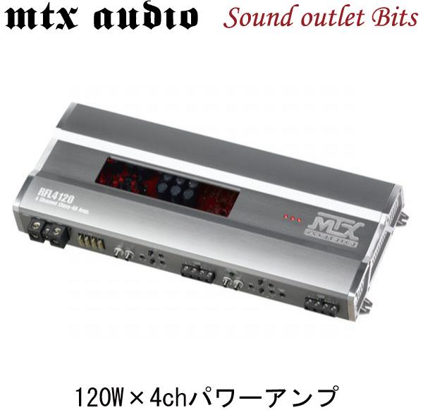 MTX AUDIO RFL4120 RFLシリーズ4chパワーアンプ