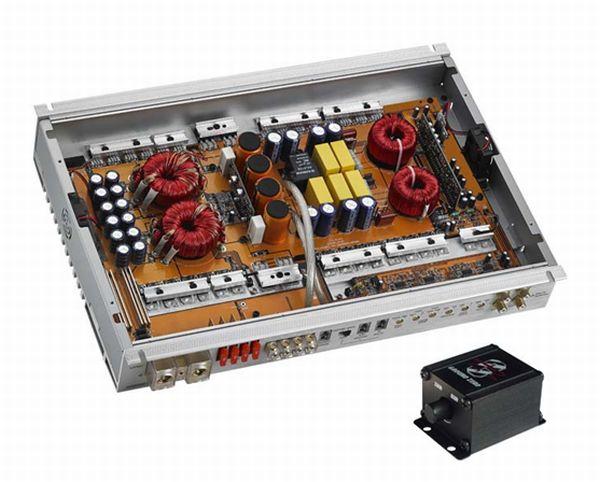 Ground zero GZHA 1.1850 DX2 700w x 1-channel power amplifier